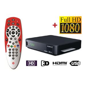 HD Sat Receiver + HD-Übertragungspaket